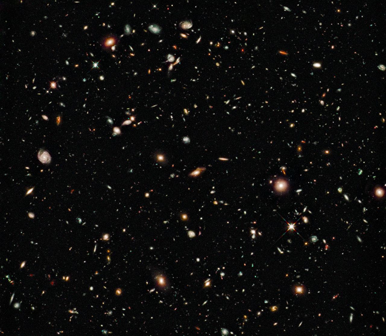 Hubble Ultra Deep Field - Infrared (2009)