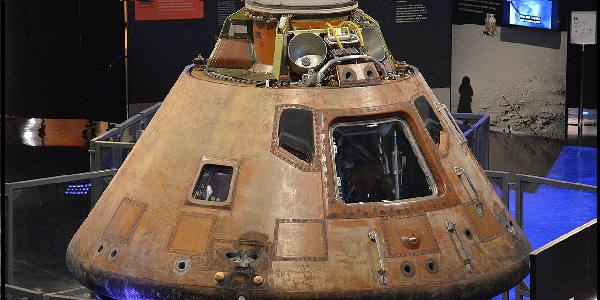 Step inside the Apollo 11 Command Module