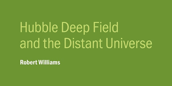 New eBook from Dr. Robert Williams, Former Director of STScI
