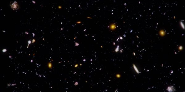 Ultra Deep Field: Looking Out into Space, Looking Back into Time